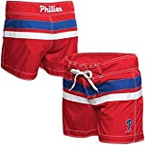 Philadelphia Phillies Women's Red Boy Short Swimsuit Bottom at Amazon.com