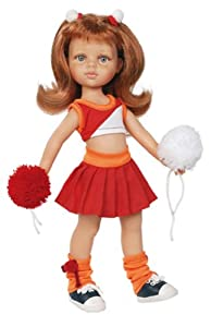 "Amazon.com: Paola Reina Las Amigas Cristi Cheerleader 12.5"" Doll (Made"