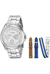 Fossil Women's LE1036 Cecile Analog Display Analog Quartz Brown Watch