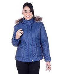 Montreal Women Jacket(Blue,X-Large)