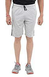 LLUMINATI Men's Cotton Shorts (Bermuda offwhite, Off White, XL)