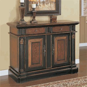 Powell Furniture Masterpiece Console Cabinet