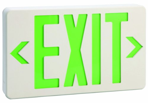 Design House 512962 Ebyit-Light Green Led Display With 3 Hour Battery, 7.25-Inch By 11-7/8-Inch, White