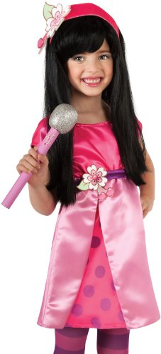 Rubies Costume Company Womens Strawberry Shortcake Cherry Jam Glitter Microphone