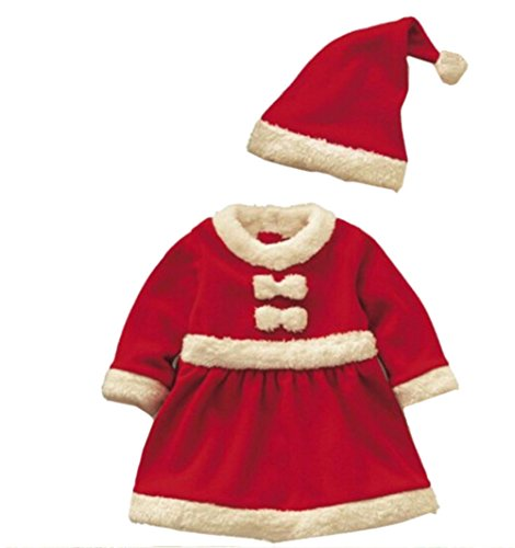 SAOMAI® Boys Santa Suit Novelty Costume Baby Christmas Clothing Sets