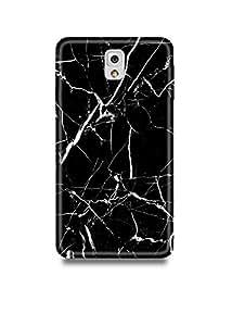 Black & White Marble Samsung Note 3 Case