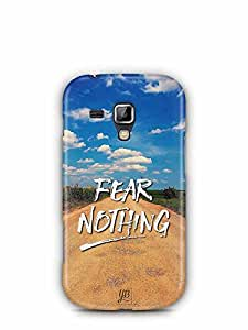YuBingo Fear Nothing Designer Mobile Case Back Cover for Samsung Galaxy S Duos 2