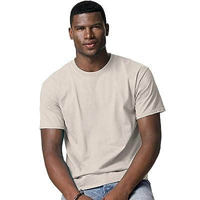 Hanes Adult Tagless® T-Shirt - Sand - L