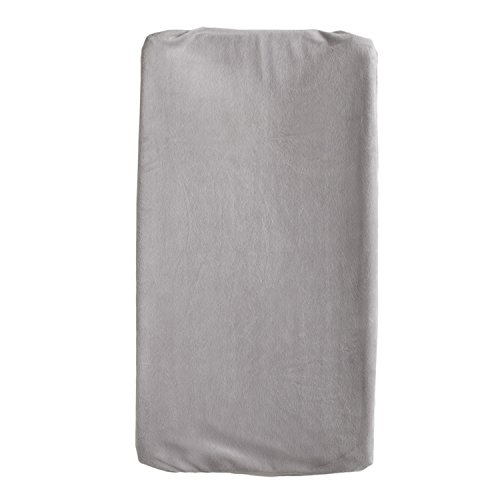 Living Textiles Change Pad Cover, Grey - 1