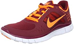Free Run 3 Mens Running Shoes 510642 002 Tm Rd Ttl Orange Pr Pl Plnm Ttl Or 8 DM US