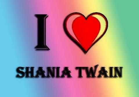 I HEART SHANIA TWAIN KÜHLSCHRANKMAGNET