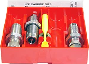 Lee Precision 40 S and W Carbide 3-Die Set (Silver)
