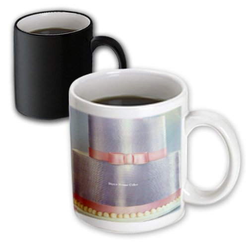 Mug_20285_3 Florene Food Beverage - Let Them Eat Cake - Mugs - 11Oz Magic Transforming Mug