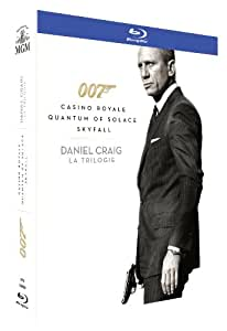 coffret james bond daniel craig skyfall casino royale quantum of solace blu ray fr import. Black Bedroom Furniture Sets. Home Design Ideas