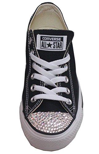Swarovski Converse Shoes – Swarovski Xirius-Rose Cut Rhinestone Crystals – Bling Converse