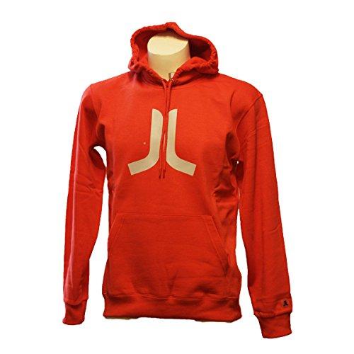 WeSC da uomo Icon in Aurora-Felpa con cappuccio, taglia M, colore: rosso rosso XL