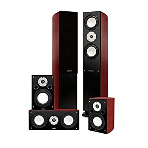 Fluance XLHTB High Performance 5 Speaker Surround Sound Home Theater System