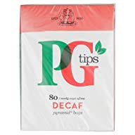 PG Tips Pyramid Tea Bag Decaf, 80 Cou…