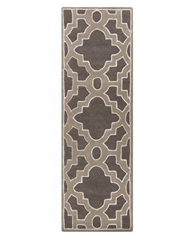 Surya Candice Olson Modern Classics Rug, Charcoal Gray, 2' x 3'