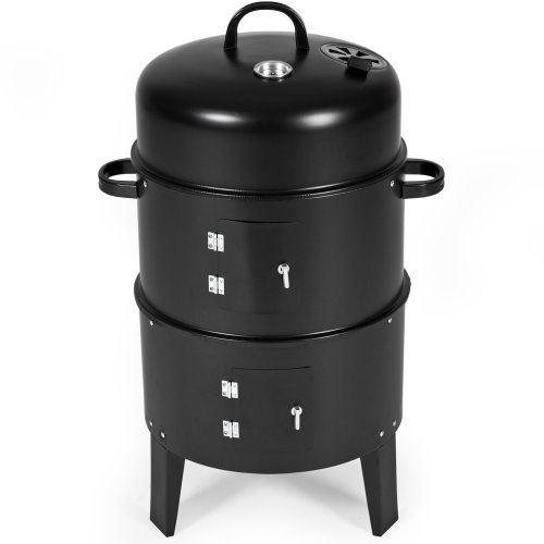 TecTake 3in1 Barbacoa Barbecue Grill con Carb�n Vegetal Parrilla Fumador