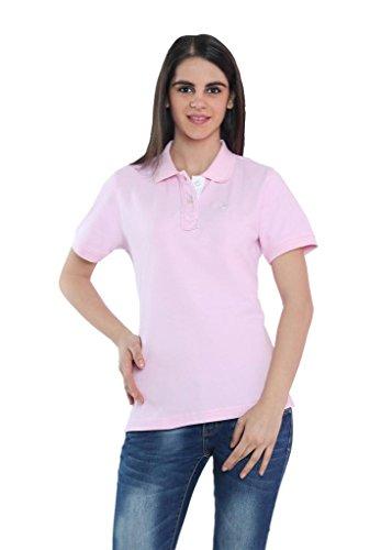 The-Cotton-Company-Womens-Cotton-Polo-T-Shirt-Pink