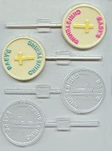 Baptism Candy Molds Cybrtrayd Baptism Lolly Chocolate