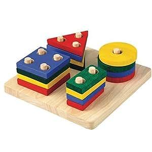 Plan Toy Geometric Sorting Board