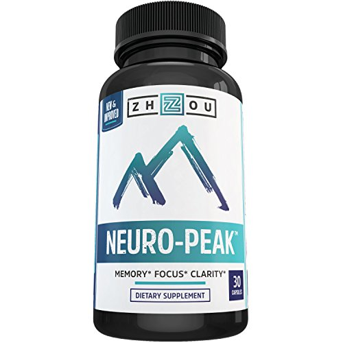 Natural Brain Function Support for Memory, Focus & Clarity - Mental Performance Nootropic - Physician-Formulated To Provide Optimum Blend Of DMAE, Rhodiola Rosea Extract, Bacopa Monnieri & More (Neuro Energy compare prices)