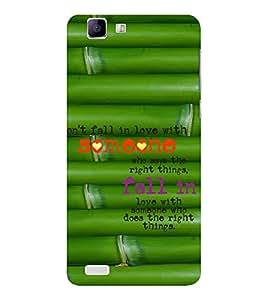 EPICCASE fall in love Mobile Back Case Cover For Vivo X 3s (Designer Case)