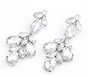 Amazon.com: GoodShoop Fashion exquisite irregular geometry crystal