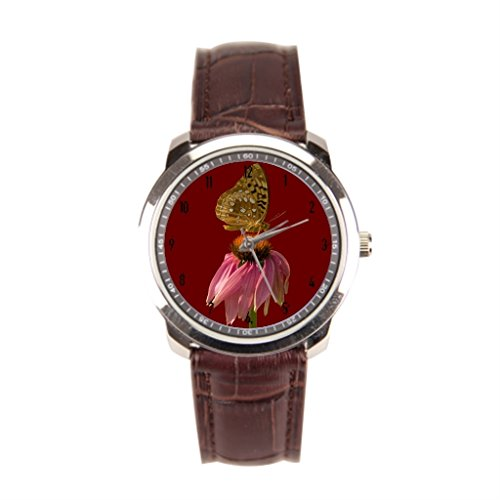 x-christy-on-top-of-the-cone-flower-classic-watch