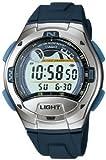 Casio Men's W753-2AV Blue Resin Quartz Watch with Digital Dial【並行輸入】
