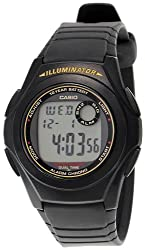 Casio Youth Digital Multi-Color Dial Mens Watch - F-200W-9AUDF (D028)