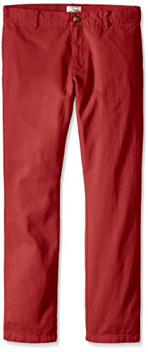 The Children's Place Big Boys' Skinny Chino Pant, Hampton Red, 14
