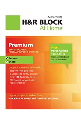 H&#038;R Block At Home Premium + State 2012 Win [Download]