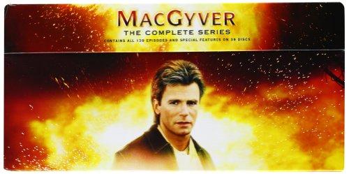 Macgyver-the Complete Series [Edizione: Regno Unito]