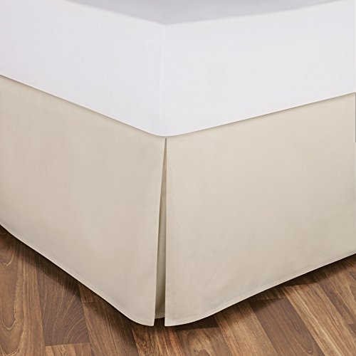 "650 Tc Egyptian Cotton 1X Bed Skirt For Rv'S, Campers, Bunk & Travel Trailers 22"" Drop Rv Bunk (42X80"") Ivory Solid back-399937"