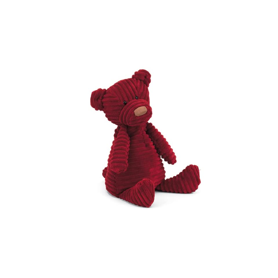 Jellycat Small Cordy Roy Plush Stuffed Animal Baby Doll Figure Toy Red Bear 10