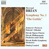 Brian;Symphony No.1 the Gothic