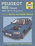 Steve Rendle Peugeot 405 Diesel Service and Repair Manual: 1988-1997(E to P Registation) (Haynes Service and Repair Manuals)