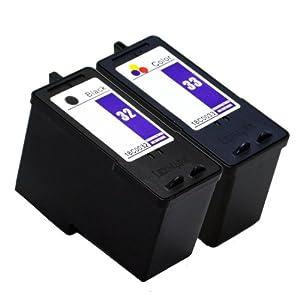 Lexmark Compatible No.32/33 Inkjet Combo Pack (Black/Color) (18C0532)