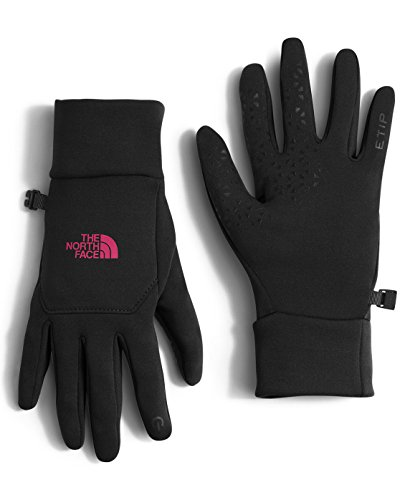 the-north-face-womens-etip-gloves-tnf-black-cerise-pink-md