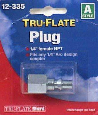 "Tru-Flate 12-335 1/4"" Female NPT Plug - 1"