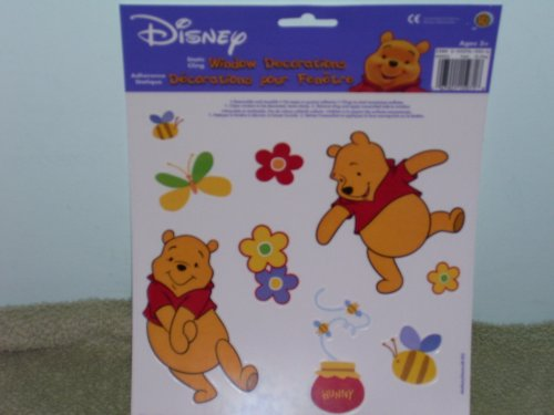 Disney Winnie the Pooh Window Decorations - Buy Disney Winnie the Pooh Window Decorations - Purchase Disney Winnie the Pooh Window Decorations (Disney, Toys & Games,Categories,Arts & Crafts,Stamps & Stickers)