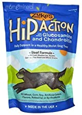 Hip Action, Dog Treats, Beef Formula , 1 lb (16 oz) by Zuke's