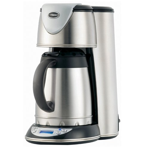 Saeco TDCM20 Renaissance XX 10-cup Digital Thermal Carafe Drip Coffeemaker, Stainless Steel (Saeco Drip Coffee Maker compare prices)