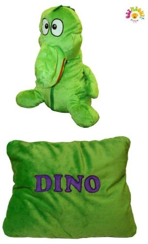 Get Me Out Pillows Soft Plush Stuffed Animal Pillow - Dinosaur Dino