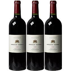Pauillac Chateau Gaudin Bordeaux 2007 75 cl (Case of 3)