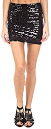 Ragstock Womens Sequin Mini Skirt