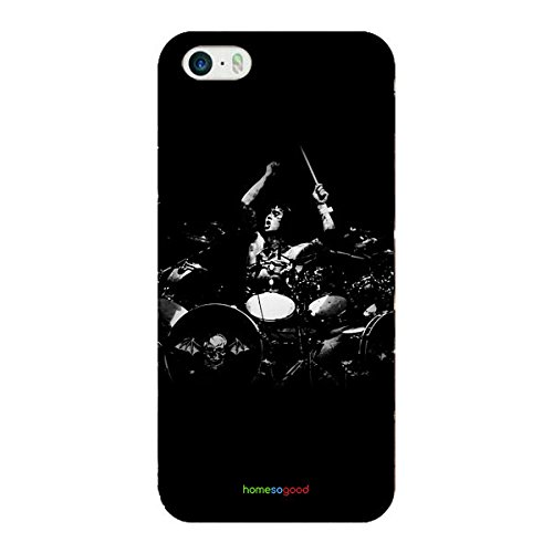 homesogood-music-from-drum-sets-black-3d-mobile-case-for-iphone-5-5s-back-cover